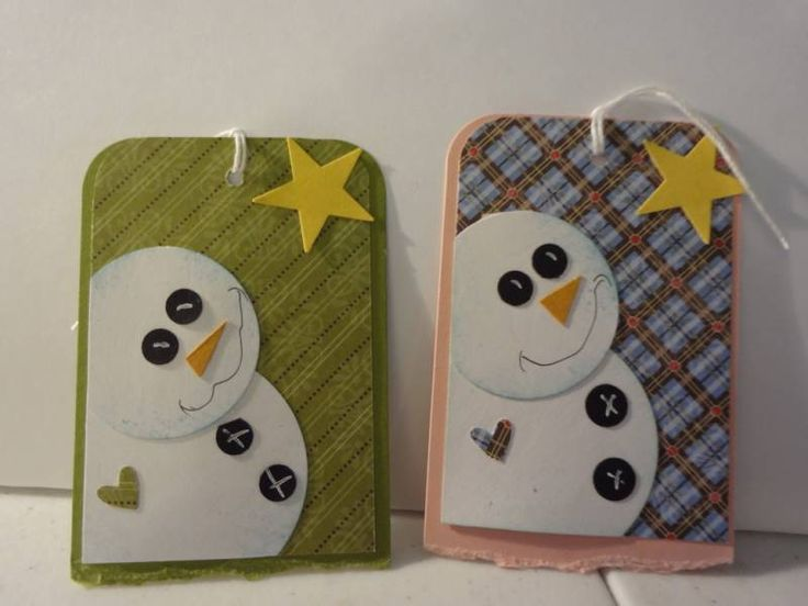 Gift tags for craft sale by mrussom - Cards and Paper Crafts at Splitcoaststampers