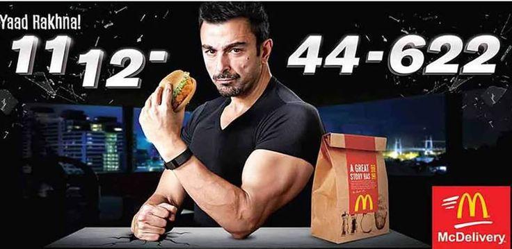 Shaan Shahid Latest Mcdonald Commercial - ReviewPk.Com  - http://goo.gl/7xT4Rz commercial, latest, mcdonald, Shaan, shahid #Entertainment