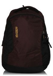 15.3 Inch Brown/Yellow Backpack