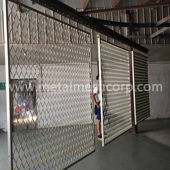 Aluminum Expanded Metalmesh Cladding Material Aluminum Thickness 3mm Strand Width 10mm Lwdxswd 80x40mm Sheet Expanded Metal Metal Mesh External Wall Cladding