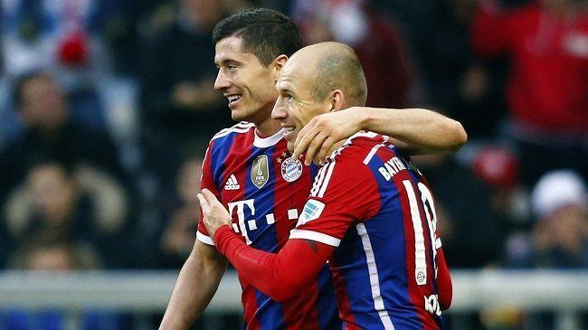 Piękna akcja Bayernu Monachium • Bundesliga • Bayern Monachium vs TSG 1899 Hoffenheim • Piękny gol Arjena Robbena po asyście Lewego >>
