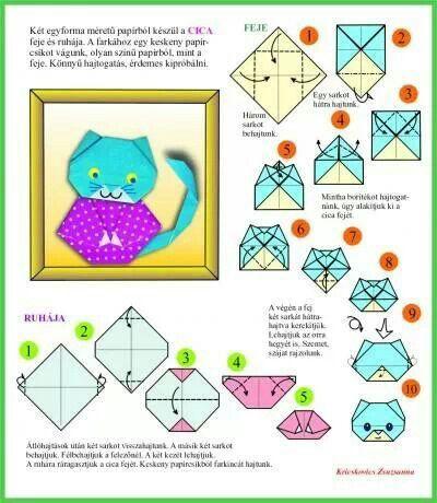 3d origami mini panda instructions
