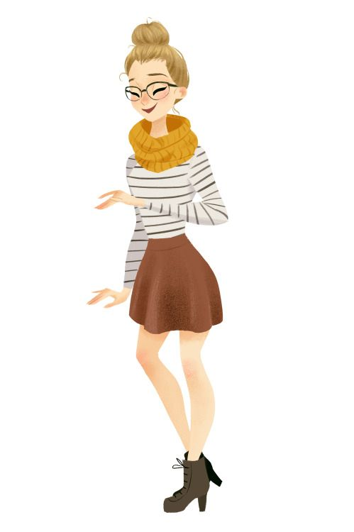 taryndraws art is exactly what the modcloth community is! She captures their styles so beautifully. I actually found her through the community!