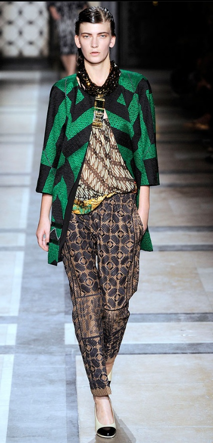 Dries van Noten batik design