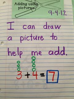 Here's a terrific post with examples of how one first grade teachers uses journals in math.