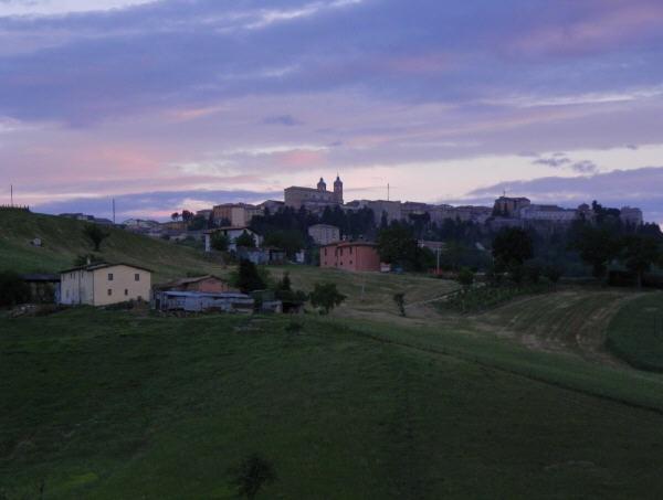 Sunset #Camerino #Le Marche #Italian landscape