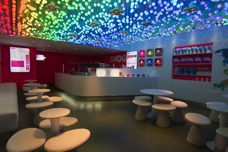 Interior Design Of Yogurt Shops