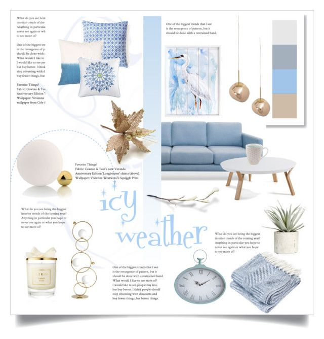 icy weather by levai-magdolna on Polyvore featuring interior, interiors, interior design, home, home decor, interior decorating, Tom Dixon, Brahms Mount, Tokyo Design Studio and New View