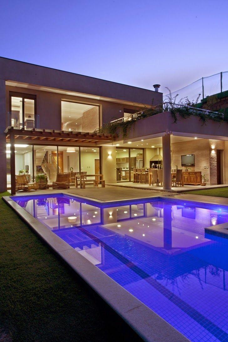 17 melhores ideias sobre plantas de casa moderna no for Design casa moderna