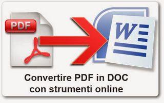 Make PDF editable by converting PDF File to Word