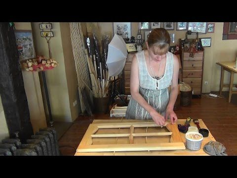 Мой секрет шпатлевки по дереву или как исправить брак в деревянном изделии - YouTube