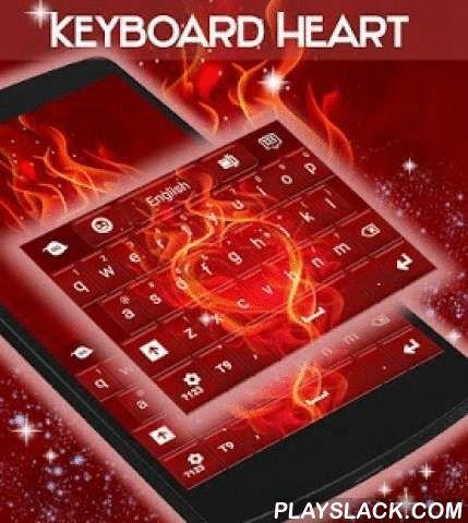 """Heart Keyboard  Android App - playslack.com ,  Onze zeer getalenteerde ontwerper team staat klaar om een nieuw keyboard thema , speciaal ontworpen voor u starten: HART TOETSENBORD ! Dus download Hart Keyboard NU en maak uw scherm staan met de ongelooflijke hete rode graphics en futuristisch design !- Om dit op je Android-telefoon te installeren, volg deze 3 eenvoudige stappen : Openen na downloaden , drukt u op """"Instellen als Active Theme"""" en selecteer het toetsenbord thema van de volgende…"""
