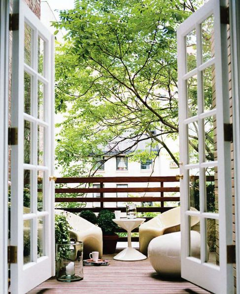 17 best ideas about french doors patio on pinterest for Sliding glass doors onto deck