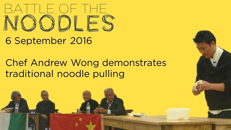 September saw us proudly cheering for Team China in the Battle of the Noodles - a food fight to end all food fights between Team China (Sir David Tang & Chef Ken Hom) and Team Italy (food critic AA GIll & Chef Giorgio Locatelli). Bringing Team China to victory, Chef Andrew Wong demonstrates traditional noodle pulling! #bestof2016
