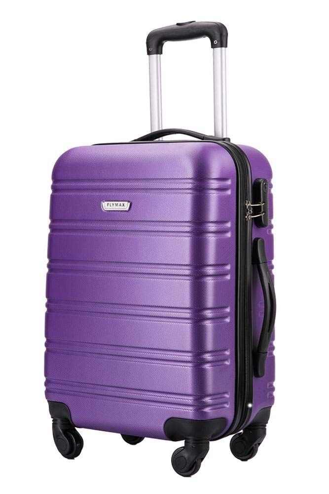 60b296a06385 Flymax Super Lightweight Abs Hard Shell Travel Carry on Board Cabin ...