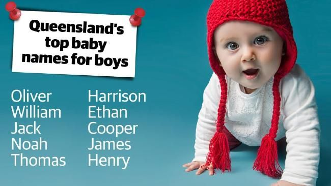 McCrindle research reveals Queensland's most popular baby names | GoldCoastBulletin