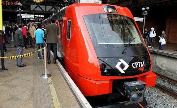 Vândalos sabotaram linha de trem usando corrente, diz CPTM