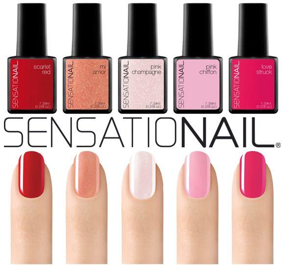I colori di San Valentino Sensationails http://buff.ly/1KVLTQS #unghie #nails #nailpolish
