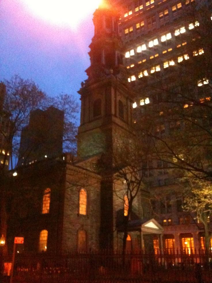 St. Paul's Chapel.