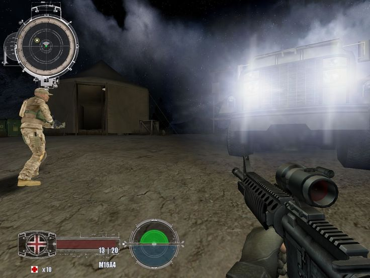 Marine Sharpshooter 4 Video Game Images