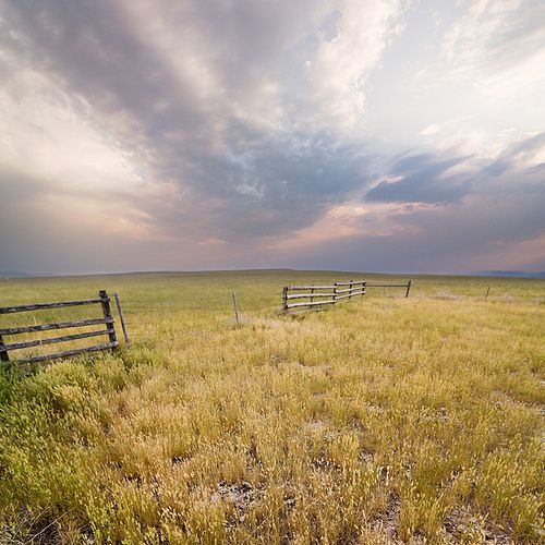 """This is why it is called """"Big Sky Country"""".  Near Three Forks, Montana"""