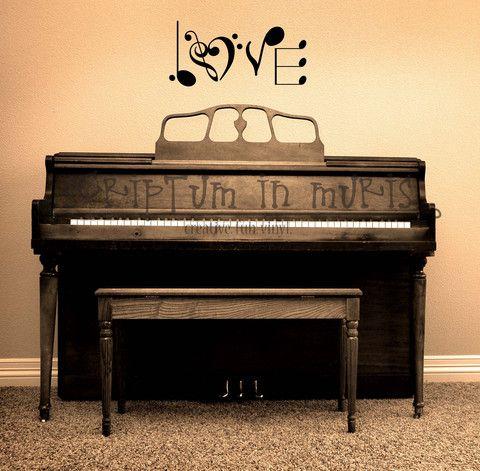 Wall decor for music classroom, theater, recording studio, gallery wall, or even wedding reception decor.