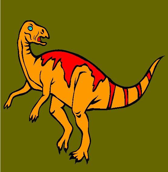 tenontosaurus coloring page