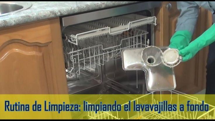 CÓMO LIMPIAR EL LAVAVAJILLAS A FONDO | How to clean the dishwasher thoro...