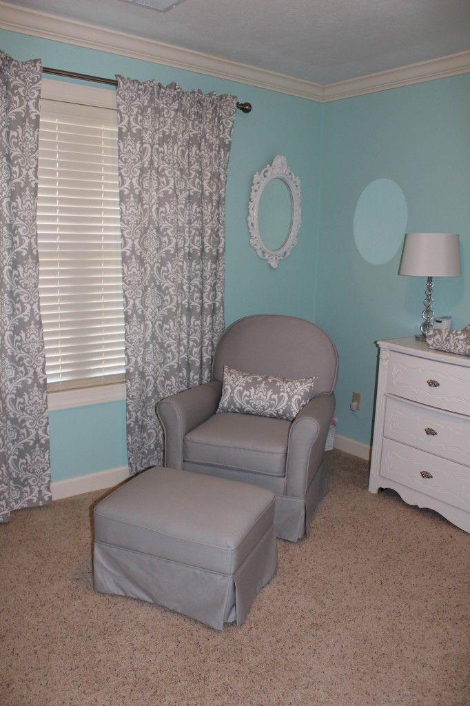 Lillianu0027s Nursery. Tiffany Blue ...
