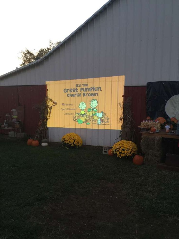 It's The Great Pumpkin Charlie Brown Birthday Party Ideas   Photo 7 of 23   Catch My Party