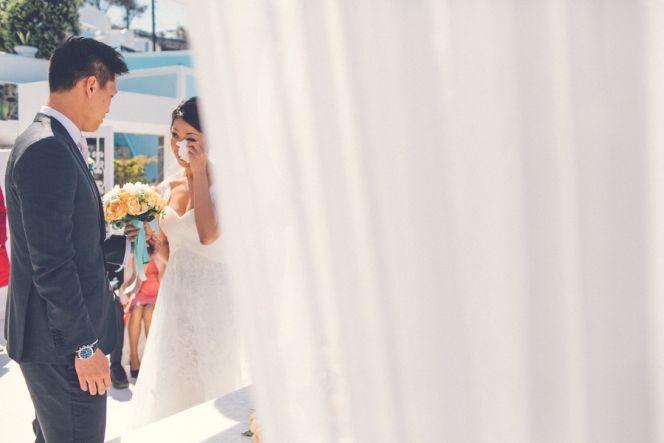Dana Villas Wedding | Santorini Wedding | Design By Stella and Moscha - Exclusive Greek Island Weddings | Photo by Chris Spira | http://www.stellaandmoscha.com