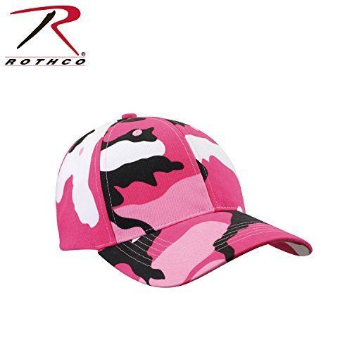 Rothco Low Profile Cap Pink Camo Hunting Shooting Equipment New