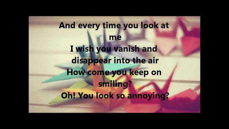 Mocca-secret admirer  (lyrics)