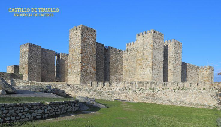 Castillo de Trujillo, una fortaleza de origen musulmán, levantada entre los S. IXy X #trujillo #cáceres #extremadura http://arteviajero.com/