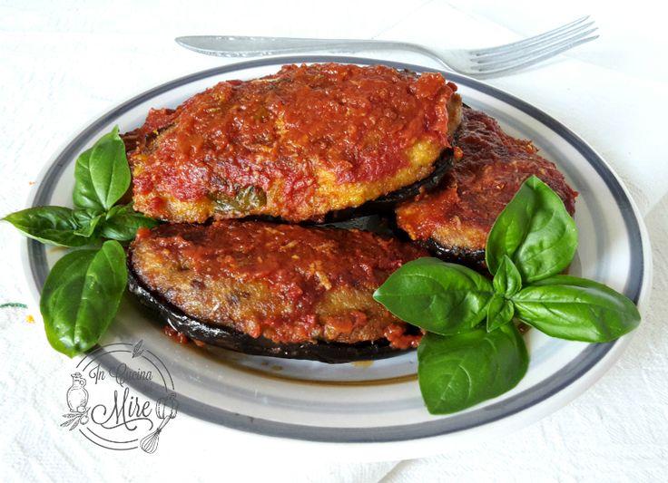 Melanzane+ripiene+alla+calabrese La Calabria è nota per la preparazioni di piatti ricchi di gusto e sapore, Melanzane ripiene alla calabrese #gialloblog #ricetta #incucinaconmire