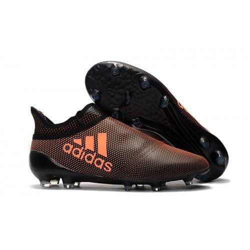 online store 3d0db 28f90 Adidas 17 Purechaos FG Fotbollsstovlar Brown svart