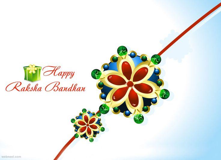 40 Beautiful Raksha Bandhan Greetings Cards and Wallpapers | Read full article: http://webneel.com/raksha-bandhan-messages-greetings-wallpapers | more http://webneel.com/greeting-cards | Follow us www.pinterest.com/webneel