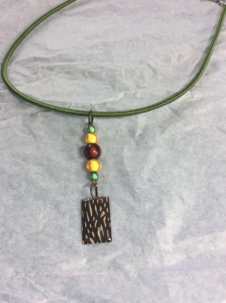 Necklace miracle, miracle beads, vintaj, utee, ranger, sizzix