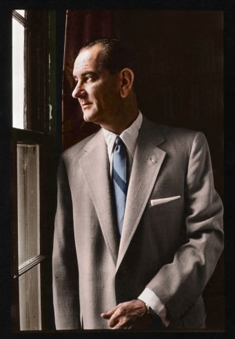 Lyndon B. Johnson - Bringing Color to Presidents Past - LightBox