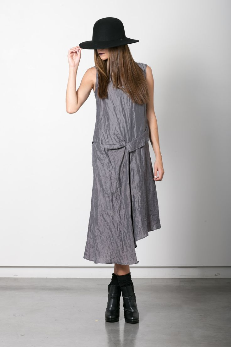 Circuit dress - http://taylorboutique.co.nz/products/circuit-dress-graphite  Brimmed hat (coming soon).  W Studio (c) 2014. All Rights Reserved.