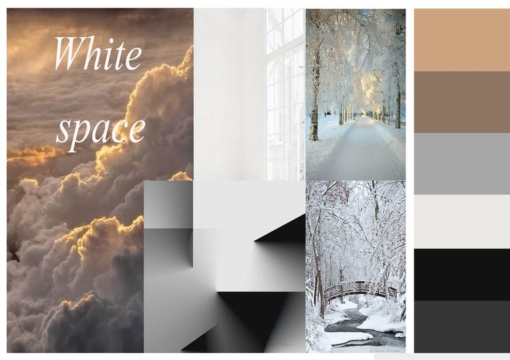 collage white space