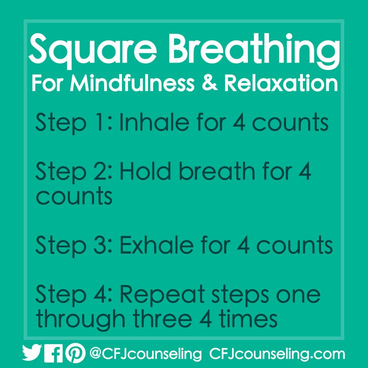 Square Breathing Mindfulness & Relaxation Exercise #MindfulMonday