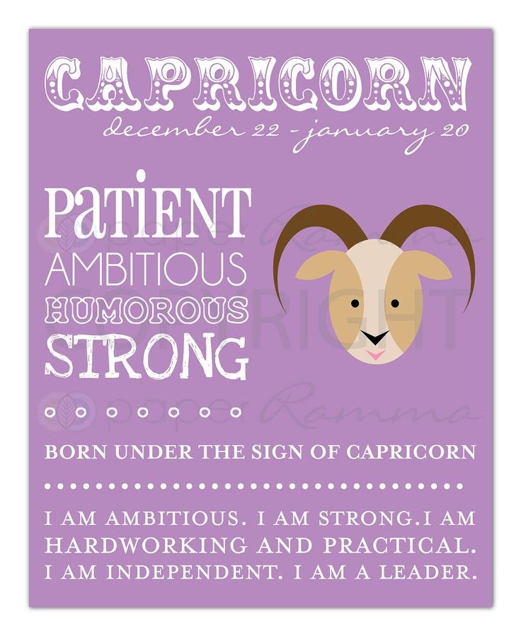 capricorn personality traits characteristics