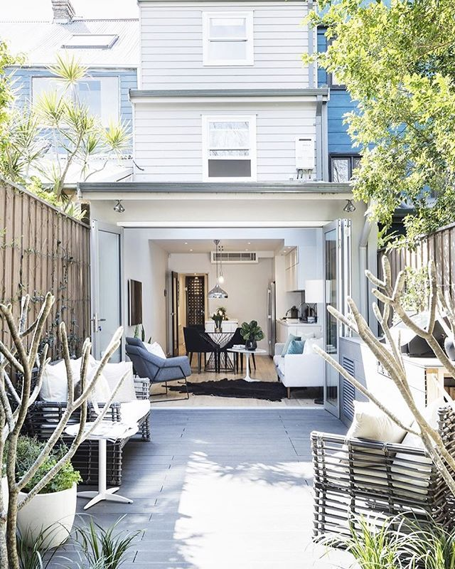 "This renovated terrace is a reflection of the changing face of #Redfern – now a fresh and fantastic area to live in close proximity to Carriageworks, the city, cafes and restaurants. ""The owners designed and project managed the renovations themselves,"" says Megan Mallon of @bresicwhitney. ""With precision and attention to detail, this three-level home is both an entertainer's dream as well as an urban retreat for a young family."" See more of 135 Little Eveleigh Street, Redfern on Domain."