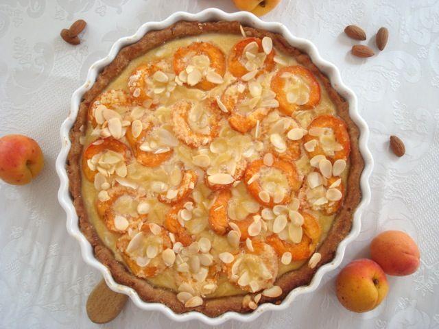 Francouzský meruňkový koláč | French Apricot Tart - www.vune-vanilky.cz