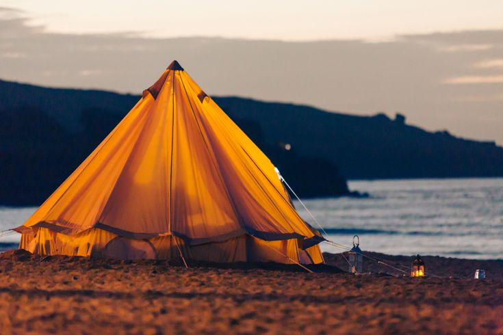 Sustainable camping could be a great way to accommodate tourists with minimal impact on the local environment.