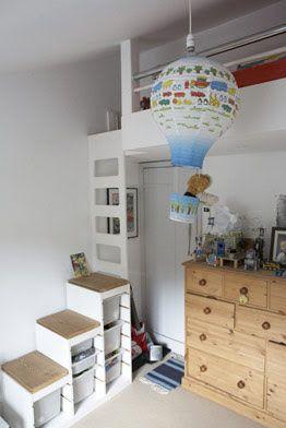 Bildresultat för loftsäng med trappa Karin