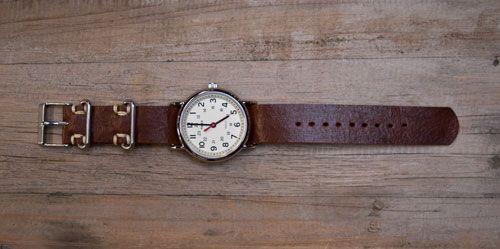 DIY watch strapVintage Watches, Leather Watchstrap, Diy Leather, Diy Watches, Watchstrap Accessories, Leather Watches, Diy Jewelry, Diy Projects, Watches Straps