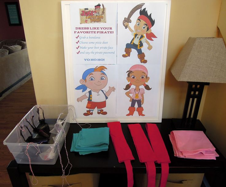 Image detail for -Dress Like a Pirate {Jake and the Neverland Pirate Party}