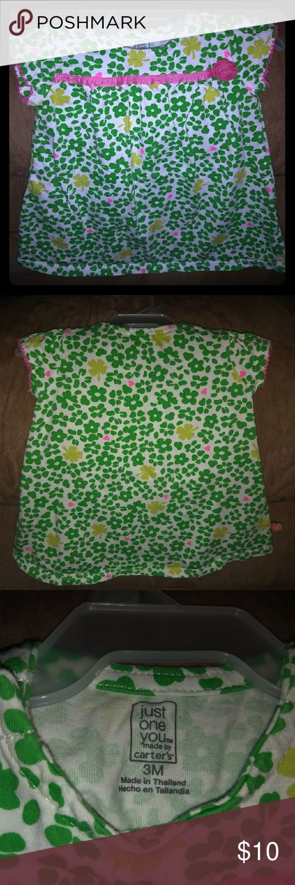 Cute little girl's Summer/Spring dress Cute, comfy and soft little girl's dress. Great condition and from smoke free home. Carter's Dresses